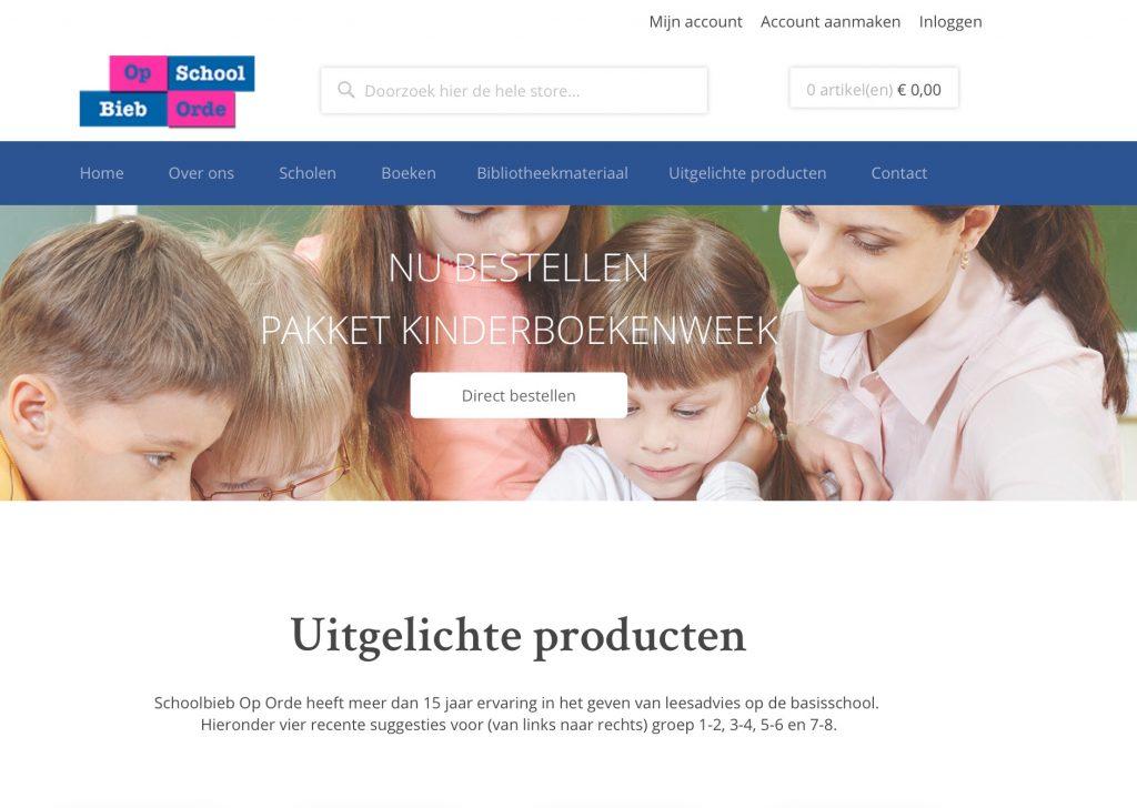 Nieuwe webwinkel