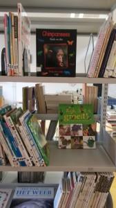 Geordende boekenkast